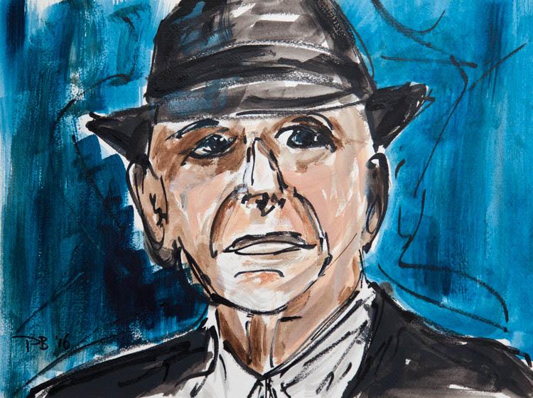 Leonard Cohen: a portrait by Paul Breddels